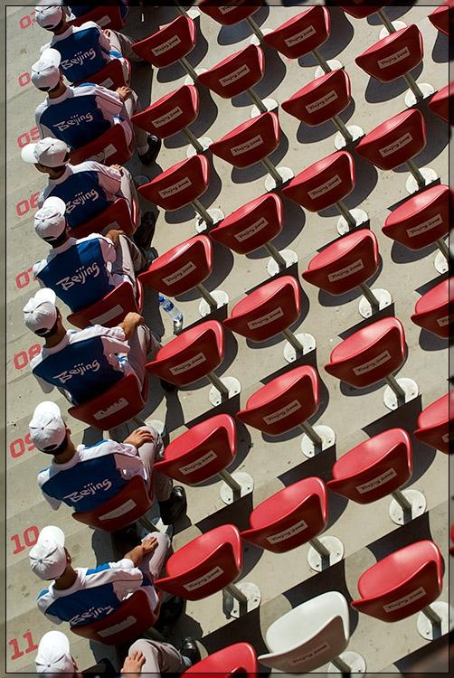 Paralympics - Empty seats
