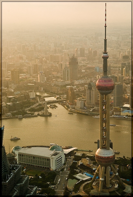 Shangai - View from 480m