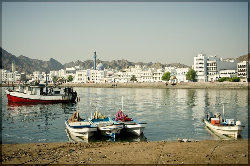Mascat - Fishermen's Boats