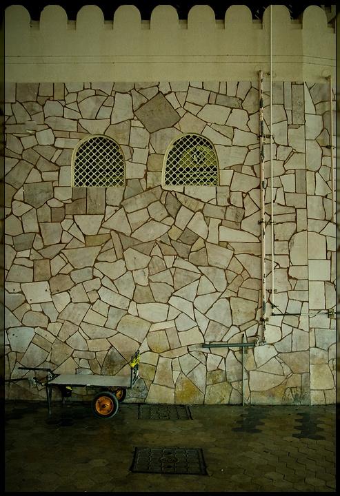 Mascat - Souq Wall