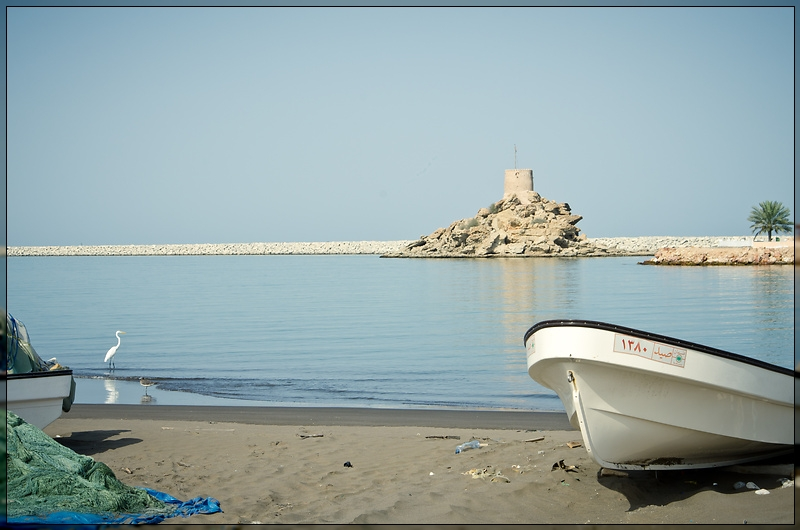 Qurayyat - Boat & Fort