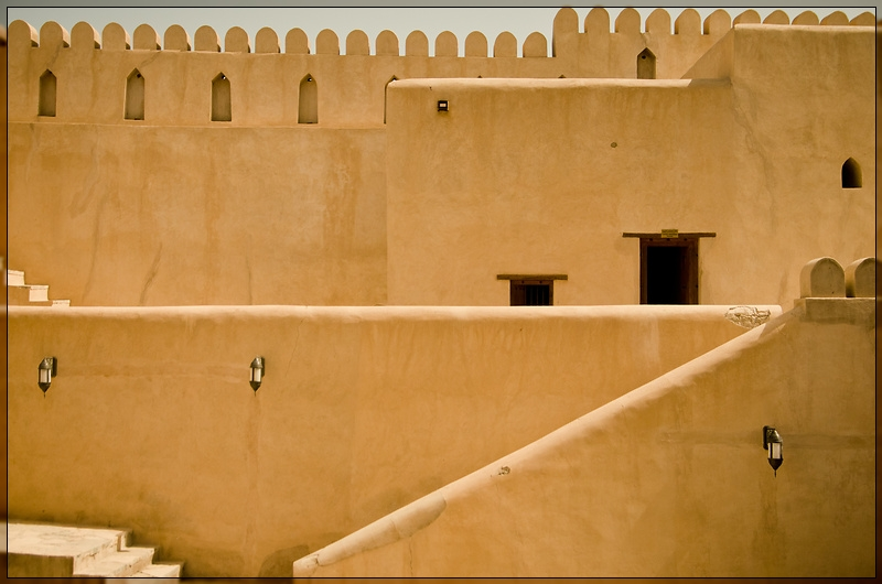 Nizwa - Fort Walls