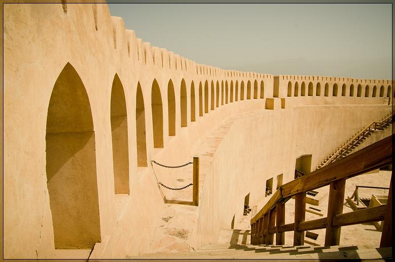Nizwa - Fort Wall