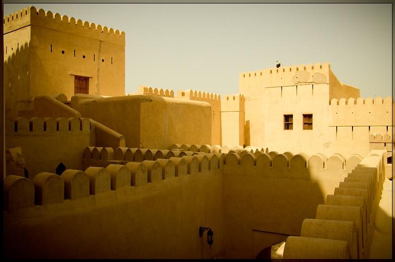 Nizwa - Fort Buildings