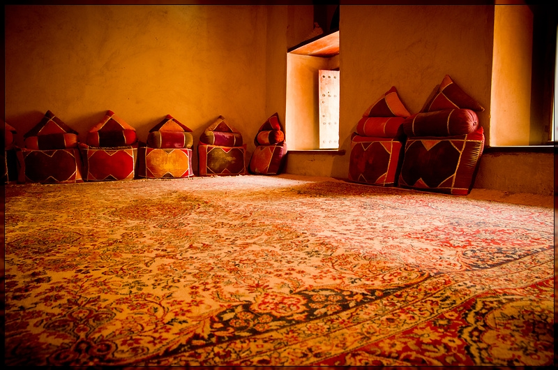 Nizwa - Carpet & Pillows