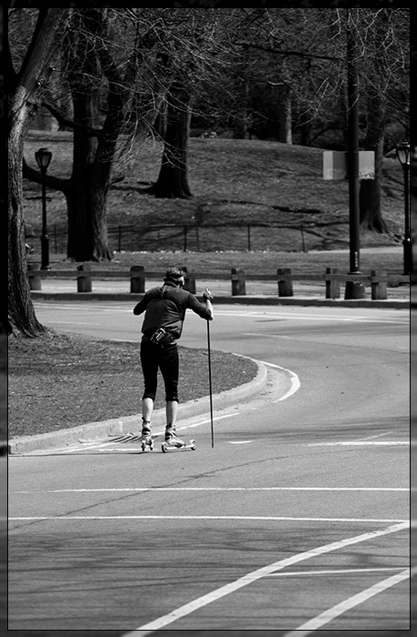 Central Park - Skater