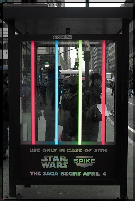 Streets Of Manhattan - Starwars