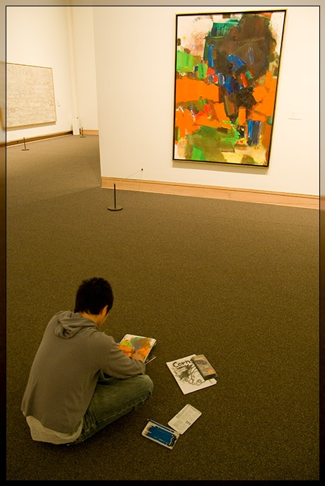 MET Museum - Abstract Painting