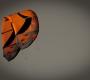 GK orange kite